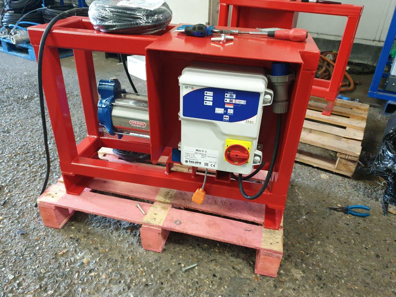 Stuart Pumps Ltd have designed and built a 'Fire Application' water pumping solutions.