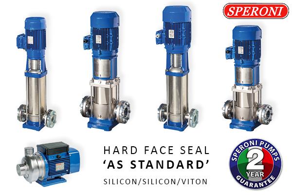 Hard Face Seal as Standard