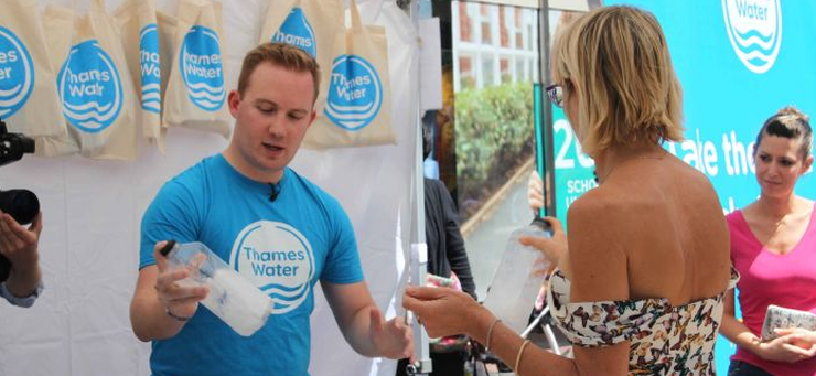 THAMES WATER LAUNCHES WET WIPE CAMPAIGN