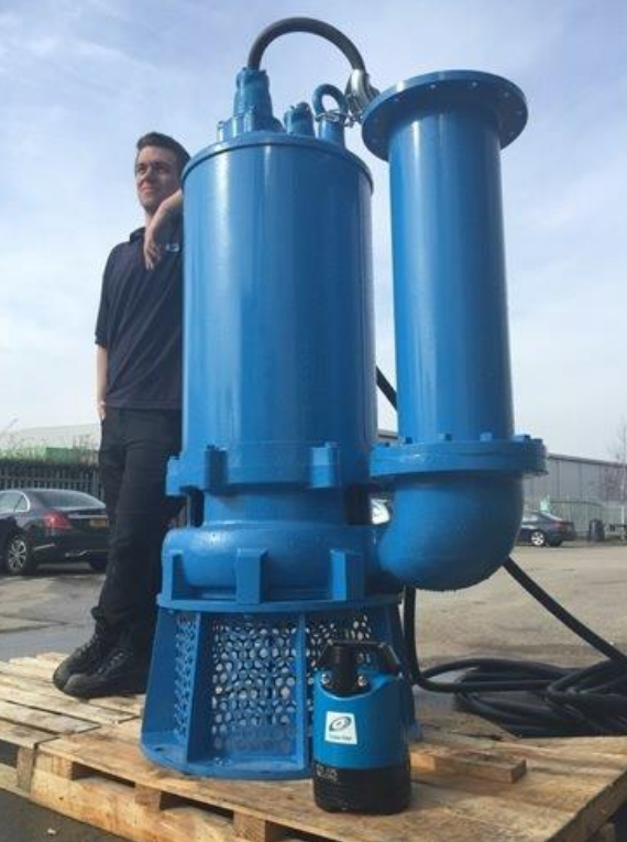 NO NEED TO WAIT 3 MONTHS FOR DELIVERY OF YOUR LARGE CONTRACTOR PUMP.