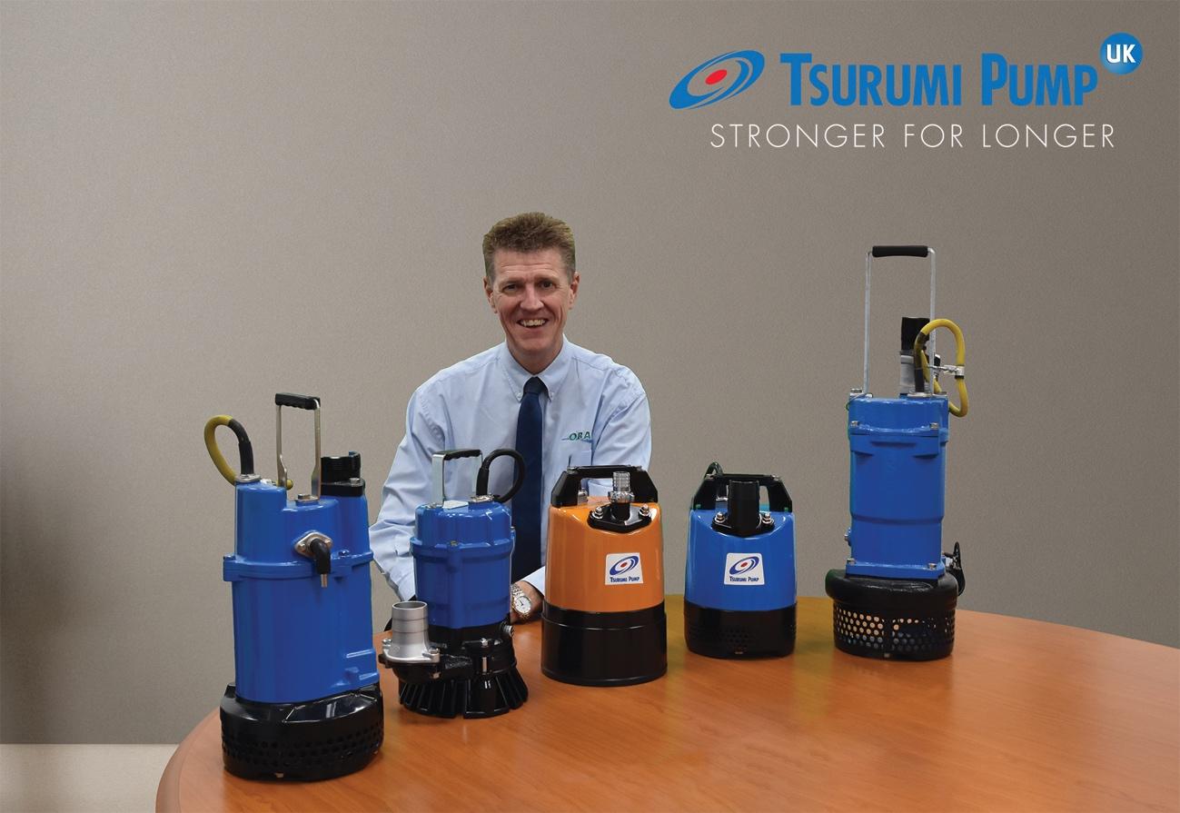 Tsurumi Pumps buy in to the UK