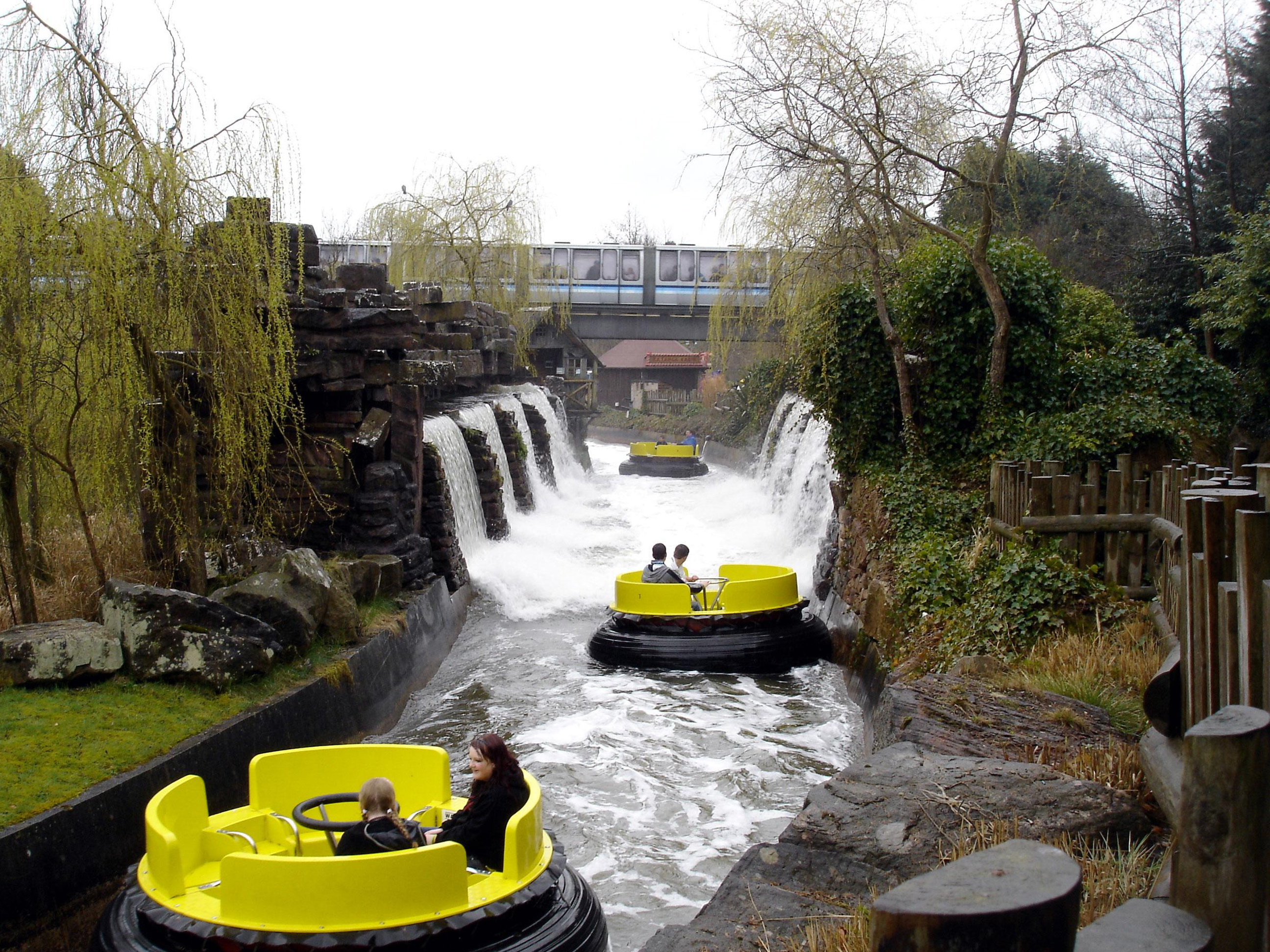 Secret behind the thrill: Water systems managing the worlds most popular water rides.